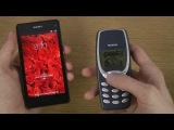 Sony Xperia Z1 Compact vs. Nokia 3310 - Which Is Faster?