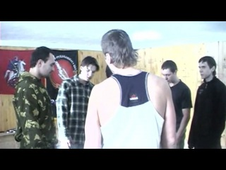 Русский рукопашный бой - Русский групповой бой
