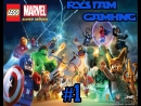 LEGO Marvel Super Heroes Прохождение 1