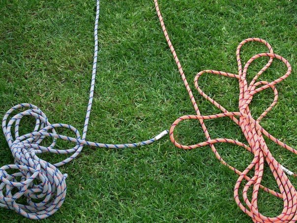 Вяжем верёвочную лестницу