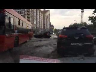 10 минут и город тонет, Казань, 18.07.2018