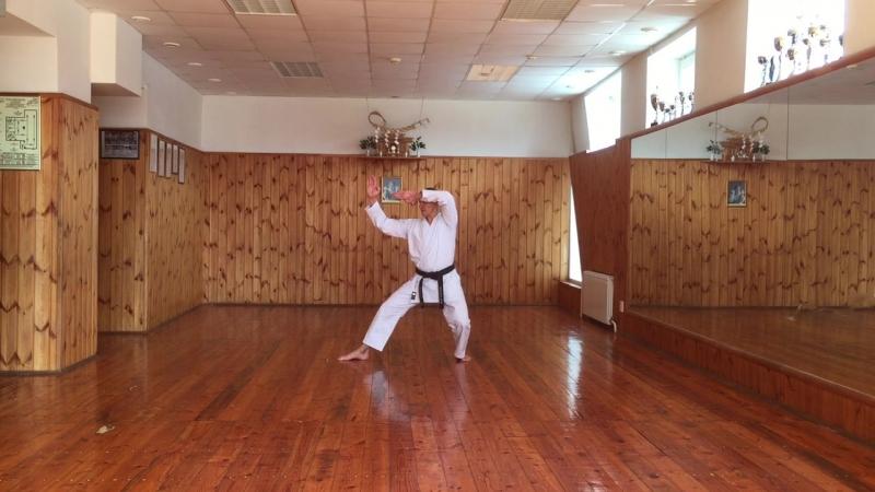 ката Хейан-Йондан каратэ сётокан JKA инструктор Валерий Балашов