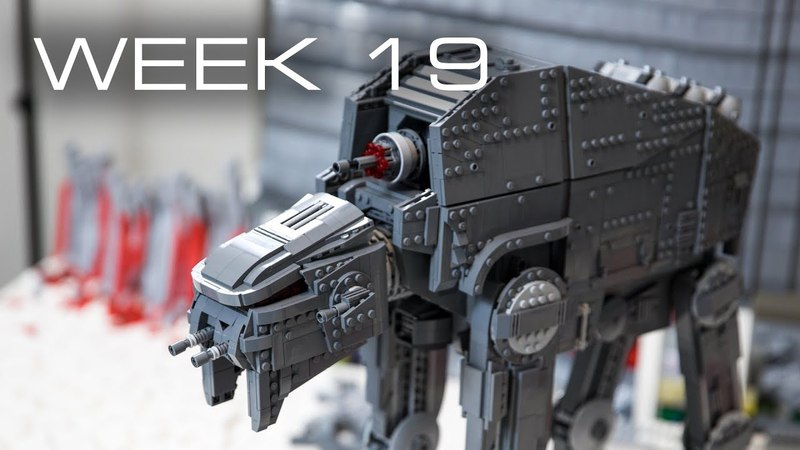 Building Crait in LEGO - Week 19: AT-M6