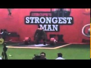 Laurence Shahlaei 435kg Deadlift at ESM 2014