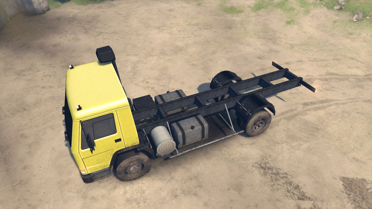 Volvo FL7 для Spintires - Скриншот 2
