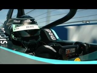 Nico Rosberg Drives Formula Es Gen2 Car In Berlin - ABB FIA Formula E Championship
