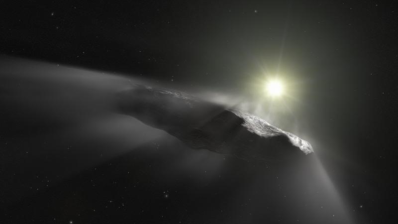 ESOcast Межзвёздный объект Оумуамуа ускоряется