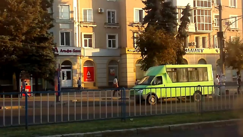 Луганск ул.Советская ЦЕНТР 2012 год