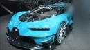 Изменение цвета Bugatti Vision Gran Turismo 8 0 W16 1500 Hp 463 Km h