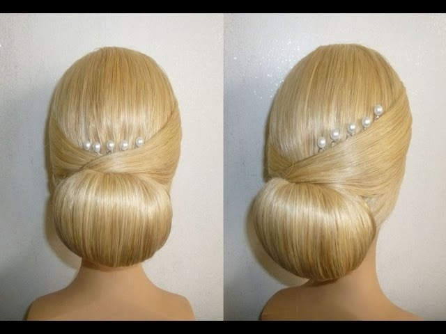 EasyQuick Prom/Wedding Hairstyle. Evening Updo Hairstyles Tutorial.Penteados