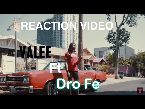 "😳VALEE FT DRO FE X SPONDIVITS l REACTION😳 ""DRO FE WEAK ASL""😭"