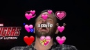 Chris Evans is precious when he smiles