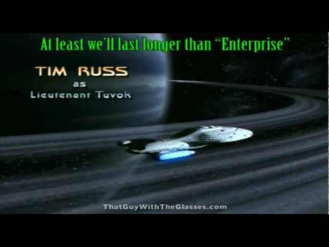 Star Trek Voyager intro... WITH LYRICS?!!