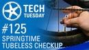 Springtime Tubeless Checkup   Tech Tuesday 125