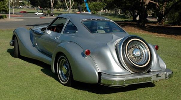 Люксовый автомобиль anzler Coupe