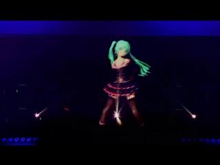 [HD] Hatsune Miku_ Live Concert - Sweet Devil (English Subs) - копия