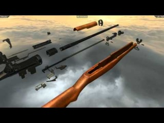 M1 Garand (full disassembly and operation)