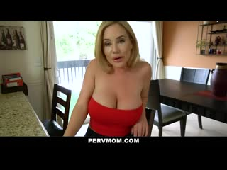 Pervmom big ass step mom cheats with her huge cock stepson