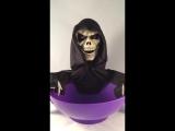 Sinnys Stuff Animated Skeleton Candy Bowl Halloween Prop