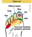 21 точка на стопах, массаж которых улучшает самочувствие