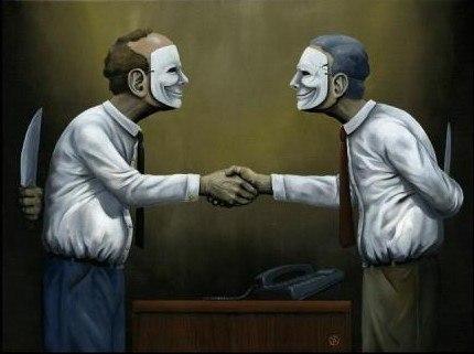 Не тот враг страшен, кто проклинает тебя в лицо, а тот, что встречает тебя улыбкой и точит нож, когда ты поворачиваешься спиной.