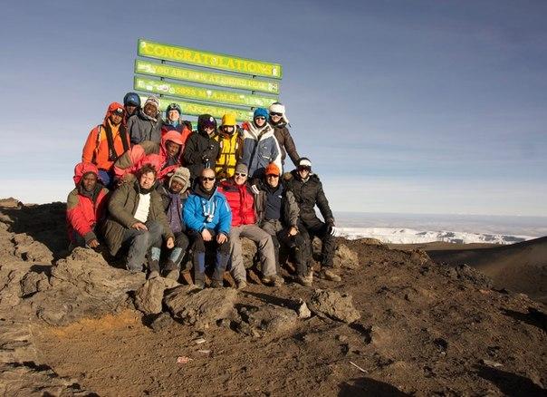 Uhuru Kilimandjaro 5895 m Olga Chobitko