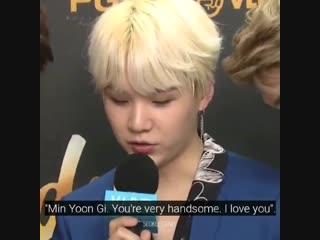 yoongi joking about his fortune cooking saying