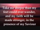 Oceans (Where Feet May Fail) - Hillsong United - Lyrics - Zion 2013