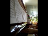 Coldplay Viva la vida фортепиано. 3.05.18