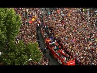 FC Barcelona - La rúa de los campeones de Liga [NEWSBARCA]