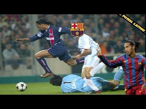 No Lo Podian Parar!! El Mejor Partido De Ronaldinho Que Confirmo Su Salida Al Barcelona!! 2002/03