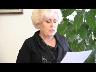 Обращение мэра Славянска Нели Штепы к правительству Украины