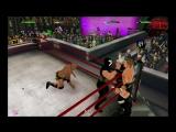 Сет Роллинс и Рок против Triple H и Мистера Икс