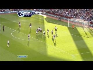 Астон Вилла - Ливерпуль 0-1 (24 августа 2013 г, Чемпионат Англии)