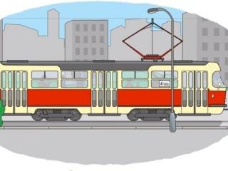 Мультик - Раскраска. Учим Цвета - Метро, трамвай, электричка (про паровозики и поезда)