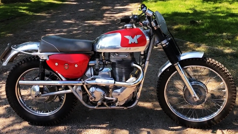 Мотоцикл Matchless G85CS 500cc, 1966 года