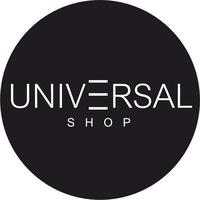 Логотип Universal Shop - спортивная одежда для команд