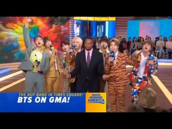 180926 BTS 방탄소년단 In Good Morning America cut (1)