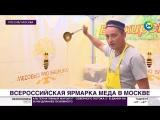 Из липы и верблюжьей колючки- в Москву привезли гору меда на любой вкус - МИР 24