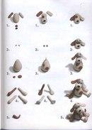 собака из пластилина Поделки из пластилина схемы пошагово (33) .