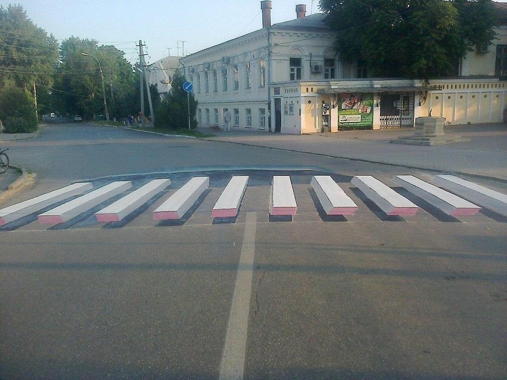 3D «зебры» в Таганроге