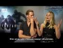 Интервью для «Hey U Guys» в рамках промоушена фильма «Тарзан. Легенда» 04.07.16 [Rus Sub]