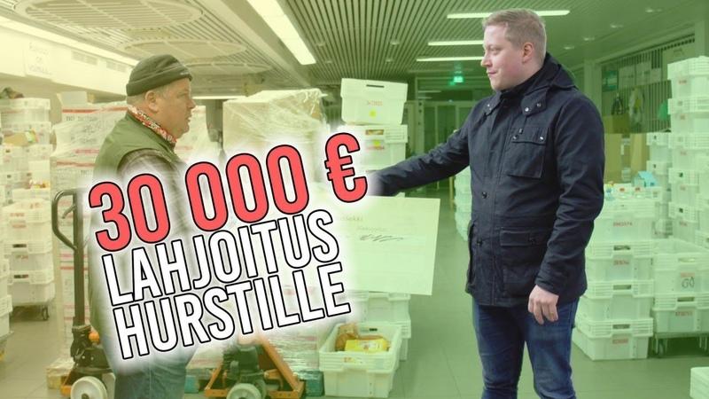 Vien Hurstin Avulle 30 000 euron lahjoituksen