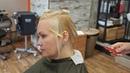 Английская техника стрижки на тонких волосах Школа парикмахерского исскуства в Саратове