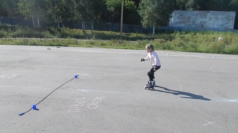 Второй открытый фестиваль по роликовым конькам. Дисциплина Cross kids