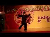 Сюй Сюэвэнь 蘇學文 демонстрирует малые быстрые формы тайцзицюань семьи Ян  楊式小快式