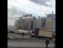 Пожар в торговом центре в Казани