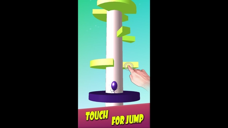 Rise On Top (Helix Jump Up) game by Warlock Studio