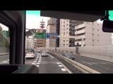 空港リムジンバス 渋谷駅方面→首都高→羽田空港 東京空港交通 【HD前面&#2