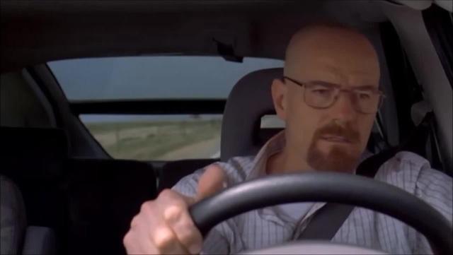 Breaking Bad - Walter singing scene